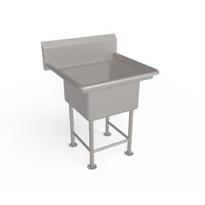 Single Bowl  Sink Unit  without drain board
