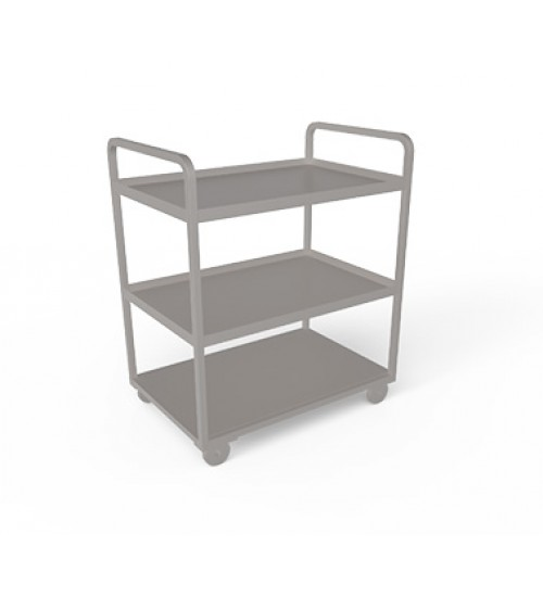 Stainless steel Three tier trolley