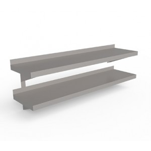 Wall Shelf Double Tier