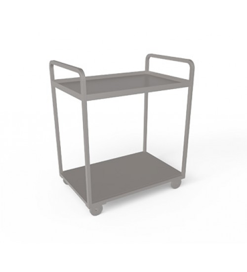 Stainless steel Two tier trolley